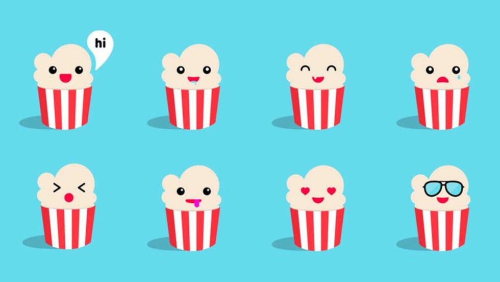 BRUKERVENNLIG: Men Popcorn Time gjør ikke filmnedlastinge noe mer lovlig av den grunn. Foto: Popcorn Time