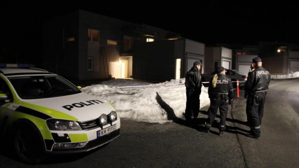BOLIGFELT: De to personene ble funnet av politiet i en leilighet her i Hans Brattebergs vei. Foto: VEGARD AAS / PRESSE 3.0