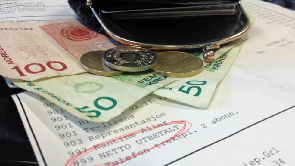MER LØNN? SSB tror på 3,8 prosent lønnsvekst i 2014, men ikke alle er enige i disse anslagene. Foto: BERIT B. NJARGA / DINSIDE.NO