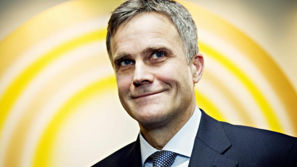 MYE PENGER: Helge Lund fikk totalt 13, 8 millioner kroner i lønn og bonuser i 2013. Foto: NINA HANSEN/DAGBLADET