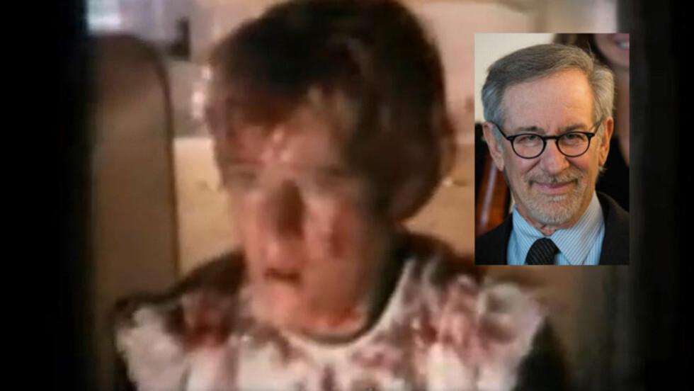 OVERLEVENDE SNUTT: Steven Spielberg spillefilmdebuterte med «Firelight» i 1963. Men bare tre minutter av filmen finnes i dag.