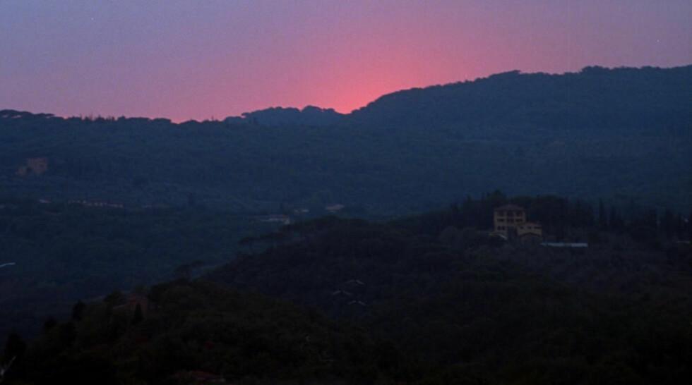 I HJERTE AV TOSCANA: Chianti befinner seg i hjertet av vakre Toscana og har lang tradisjon for produksjon av vin. Foto: AGNETE BRUN