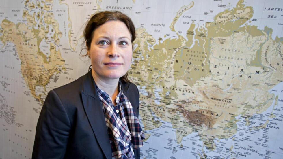 LEDER HVITVASKINGSTEAMET: Førstestatsadvokat Anna Haugmoen Mo i Økokrim. Foto: Torbjørn Berg / Dagbladet