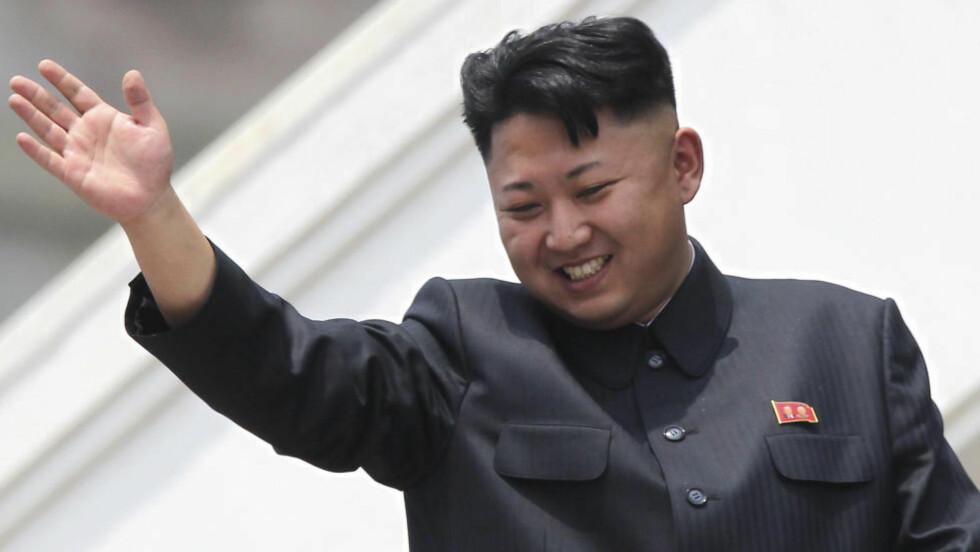 SVEISEN: Nord-Koreas diktator Kim Jong-Un. Foto: AP / Wong Maye-E / NTB scanpix