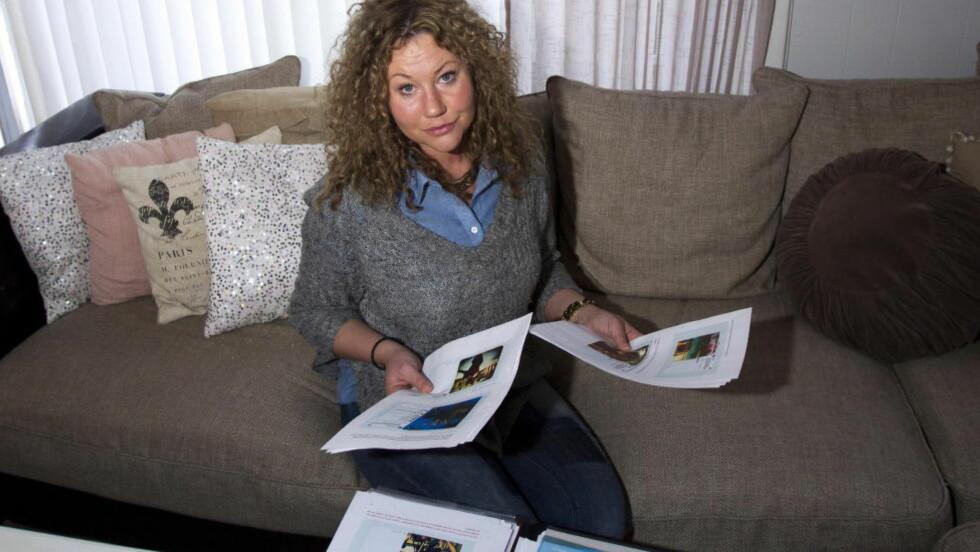 SJOKKERT: Anette Giphardt fikk sjokk da Nav kontaktet henne september i fjor. De hadde fått et brev fra arbeidsgiveren, Hæhre Entreprenør, med en rekke Instagram-bilder hun hadde publisert på sin personlige profil. Foto: TORBJØRN BERG/DAGBLADET
