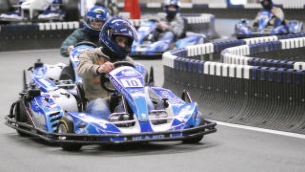 MOTOSPORT: Gokartbanen er oppkalt etter Formel1-fører Ralf Schumacher. Foto: BISPINGEN TOURISTIK/KART&BOWL