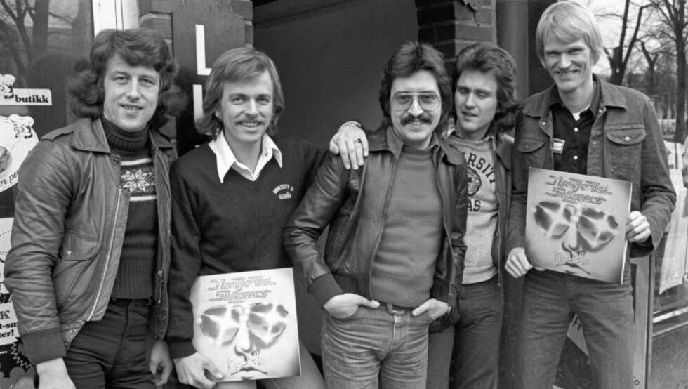 «CLOSE UP»: Albumet fra 1977 lå seks uker på VG-lista. De nåværende medlemmene John Kolloen og Eigil Berg til venstre. Foto: Bjørn Sigurdsøn /NTB Scanpix