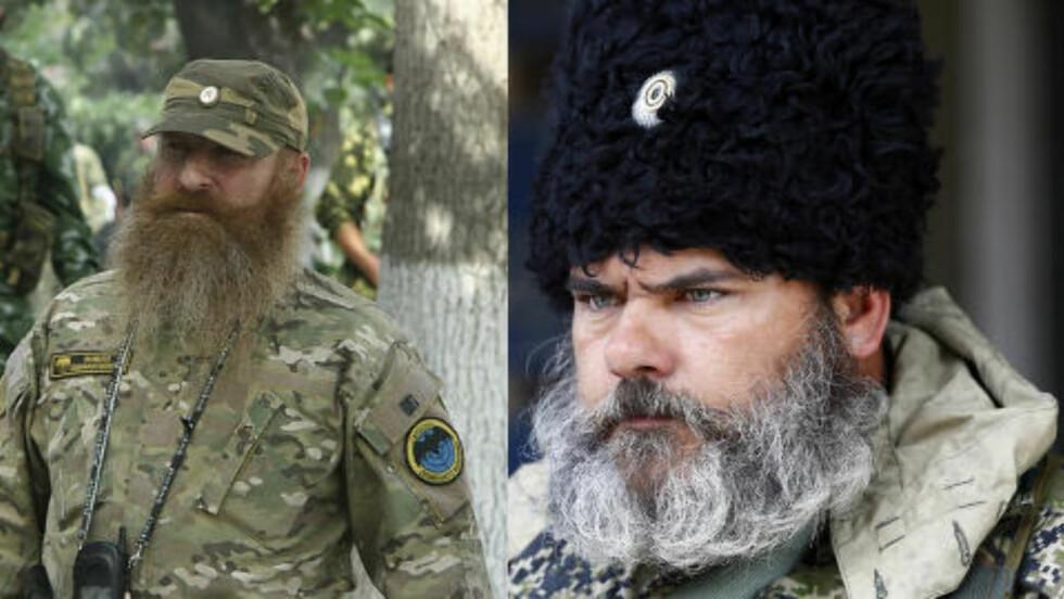 IKKE SAMME: Dagbladet har funnet originalbildet fra Georgia. Likheten mellom de to mennene med skjegg er ikke spesiell stor når bildene presenteres høyoppløselig.