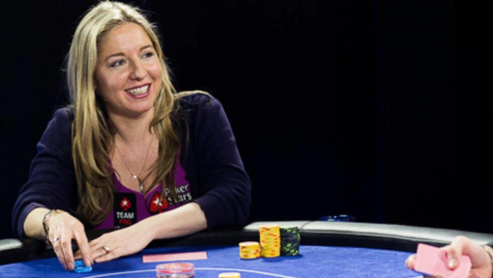 HISTORISK: Britiske Victoria Coren Mitchell er den første til å vinne European Poker Tour to ganger. Foto: Neil Stoddart/PokerStars.com