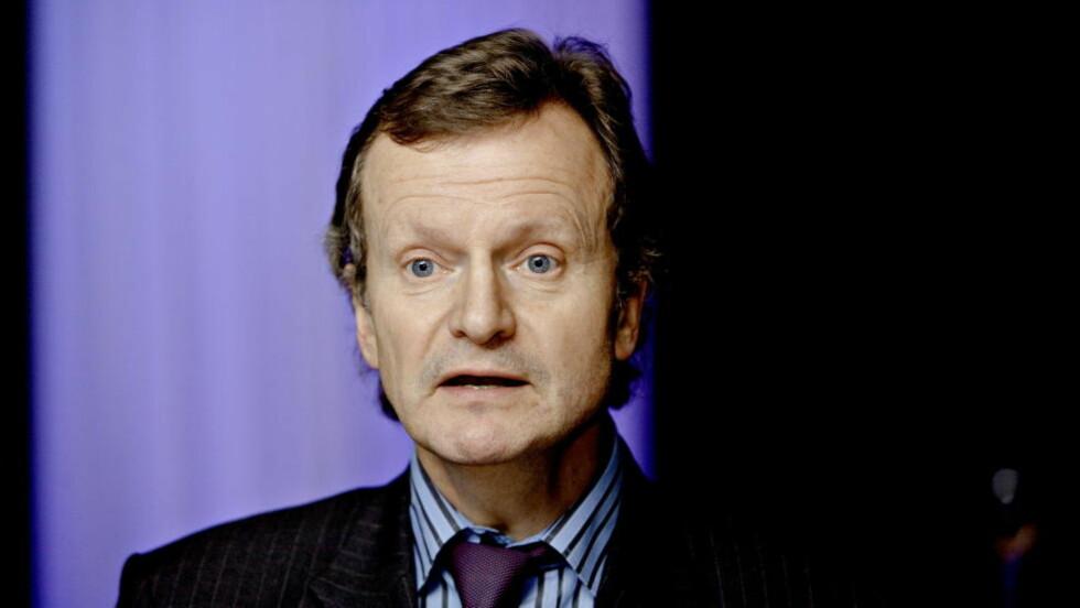 GODT BETALT: : Telenorsjef Jon Fredrik Baksaas.  Foto: Lars Eivind Bones, Dagbladet