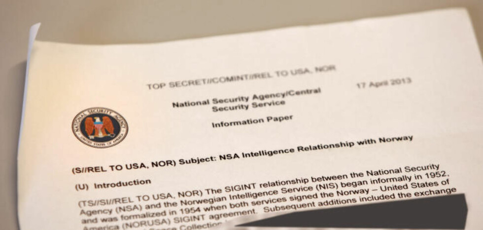 Information paper: This internal NSA-documet is a summary of the relationship NSA have with the Norwegian Inteligence Service (NIS).