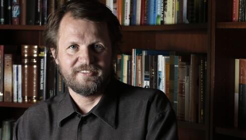 KRITISK: Forfatter Tom Egeland. Foto: Trygve Indrelid / Aftenposten