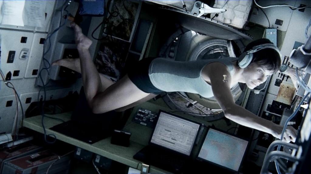 OVERVURDERT: «Gravity» er 2013s mest overvurderte amerikanske film, mener LA Times' lesere. Hva er den norske? Foto: Warner Bros. Pictures / SF Norge