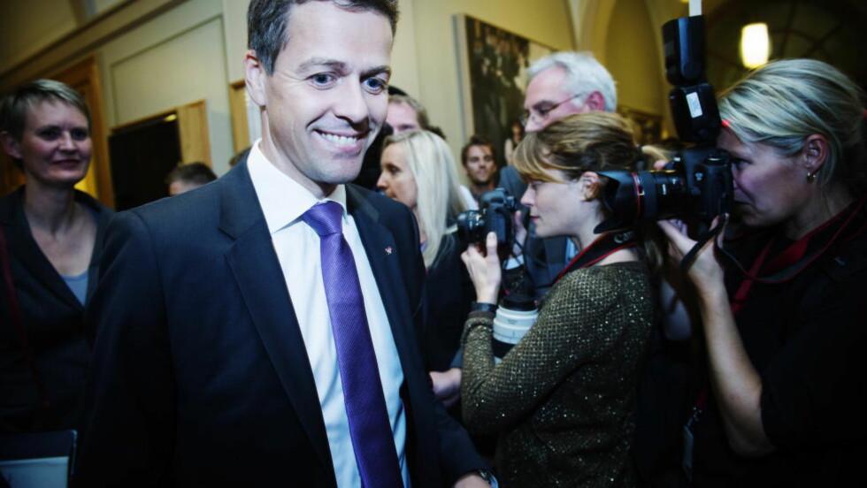 KJEMPER: Krf-leder Knut Arild Hareide og partiet hans vil gjøre det de kan for at ikke sexkjøpsloven skal forsvinne. Foto: Benjamin A. Ward / Dagbladet