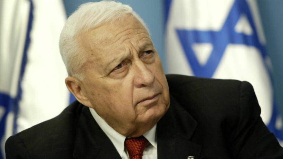 OMSTRIDT: Sharon ble general allerede i 1966 - og har vært svært omstridt både som kriger og politiker. Foto: AP / NTB scanpix