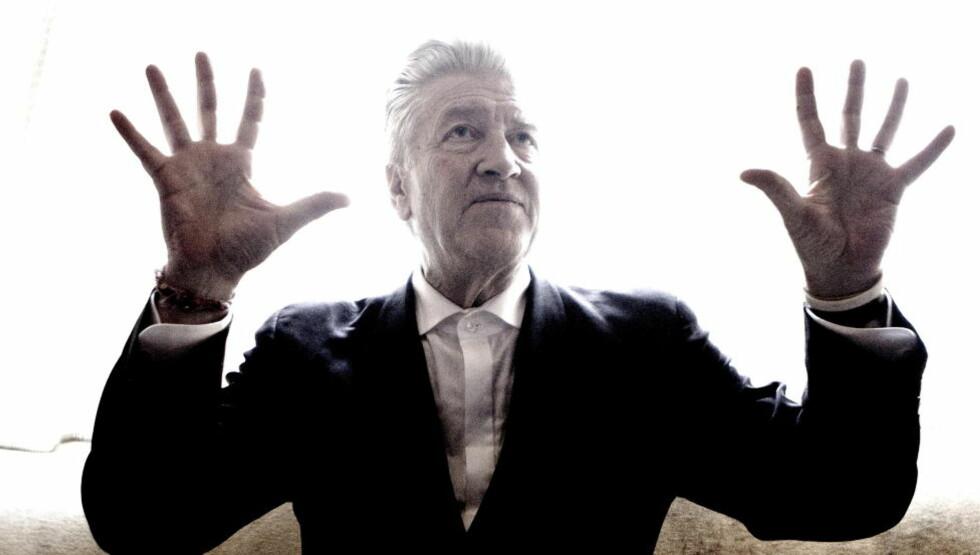 SØKER SKUESPILLER: Filmskaper David Lynch søker nå etter en lekker, ung kvinne til et mystisk prosjekt. Foto: Lars Eivind Bones