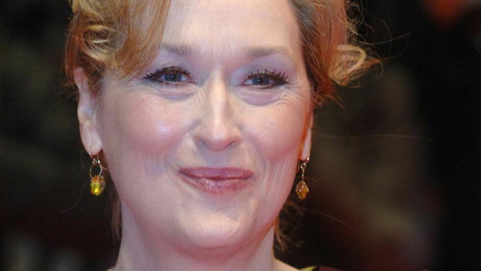 FEMINIST: Meryl Streep må vel sies å være er en av Hollywoods veltalende og tøffeste kvinner.  Foto: Gorm K. Gaare