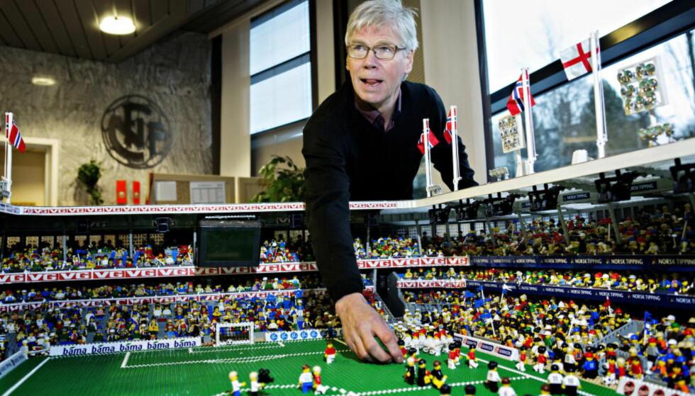 BYGGHERREN: Leif Øverland er første mann ut i Dagbladets maktkåring. NTF-direktøren er nummer ti på sin tredje arbeidsdag. Lykkes han med å bygge en sterk klubbsammenslutning, er han trolig noen hakk høyere innen året er omme. Foto: Nina Hansen