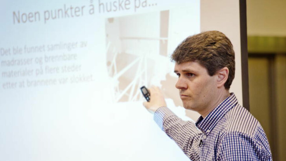 Ikke holdbart: Håkon Winterseth, fagsjef i Skansen Consult, retter krass kritikk mot det han kaller «Vegvesenets manglende holdning til sikkerhetstenkning». Foto: Marit Hommedal / NTB Scanpix
