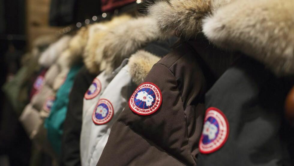 <strong>POPULÆR JAKKE:</strong>  Canada Goose-jakka er et populært plagg i Norge, særlig blant ungdom. Foto: AP Photo/The Canadian Press, Aaron Vincent Elkaim