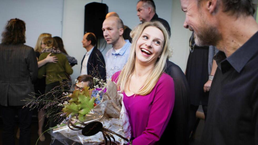 NOMINERT AV BLOGGERE: Trude Lorentzen, er fra offentliggjøringen av fjorårets brageprisnominasjoner, er blant de nominerte til den første norske Bokbloggerprisen. Christian Roth Christensen / Dagbladet