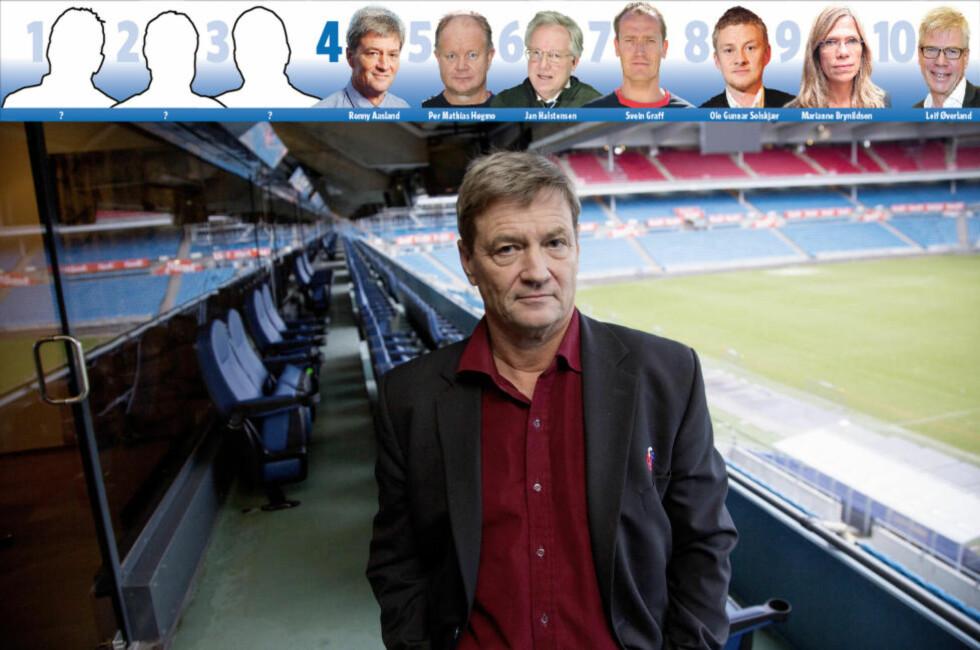 KRONEKONTROLL: Ronny Aasland får det meste av æren for at Norges fotballforbund har passert én milliard i inntekter. Selv hevder han å ikke ha makt, men innflytelse. Foto: SVEINUNG U. YSTAD