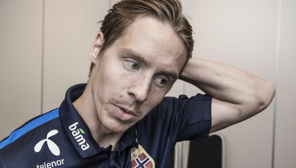 KLAR FOR FULHAM: Stefan Johansen vil ta engelsk fotball med storm. Men først må Norge forsøke å slå tilbake mot Tyskland. Foto: Hans Arne Vedlog   /   Dagbladet