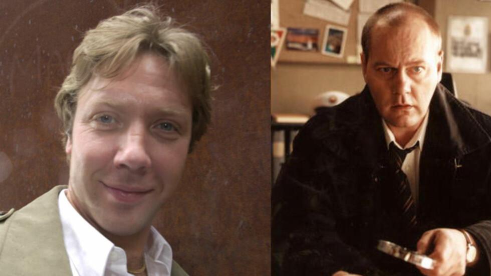 TILBAKE SOM POLITIETTERFORSKERE: Mikael Persbrandt (t.v) og Peter Haber kommer tilbake som politietterforskerne Martin Beck og Gunvald Larsson i nye «Beck»-filmer. Foto: DALSNES / TOR ARNE / Dagbladet
