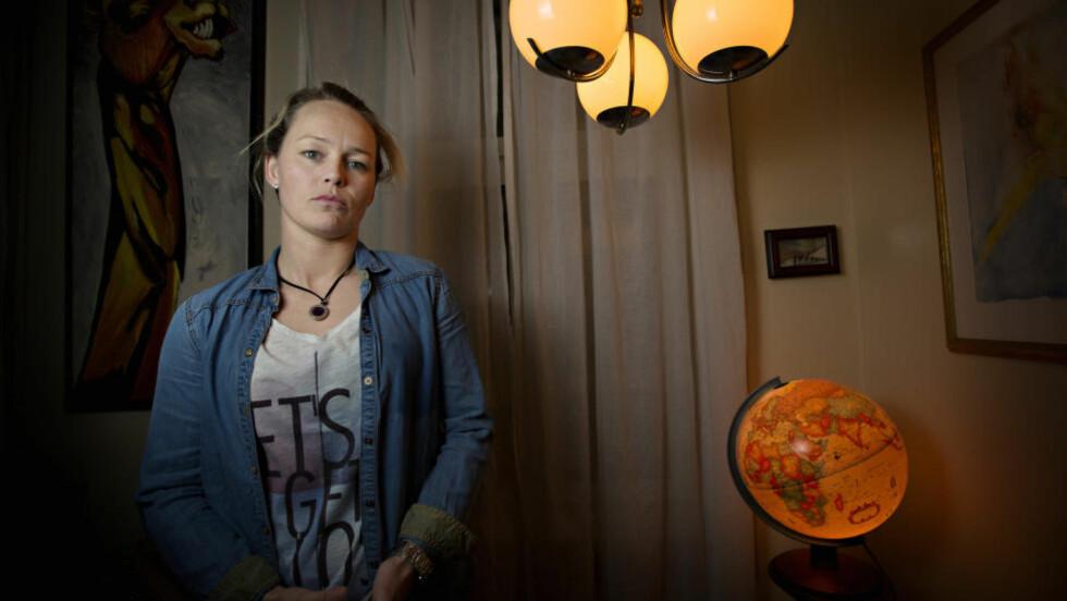 ANGREPET: Tidligere Stabæk-spiller, Leni Larsen Kaurin sto nylig fram og hevdet hun ble sextrakassert av Stabæk-trener Øyvind Eide. Det får Stabæk-supportere til å reagere. Foto: Anita Arntzen / Dagbladet