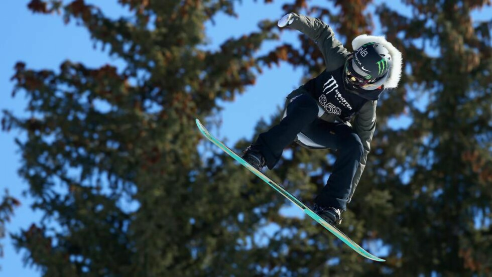 SENSASJON: Silje Norendal gikk til topps i slopestyle-finalen i X Games. Foto: Doug Pensinger/Getty Images/AFP/NTB Scanpix