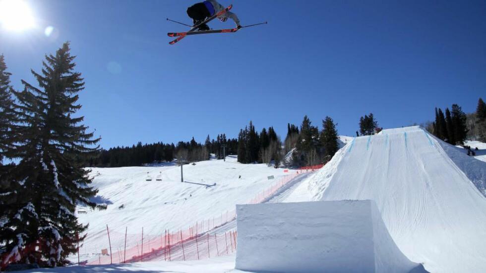 IMPONERTE:  Andreas Håtveit dro fram  OL-formen under X Games-finalen i kveld. Foto: Claes-Tommy Herland/Skiforeningen / NTB scanpix