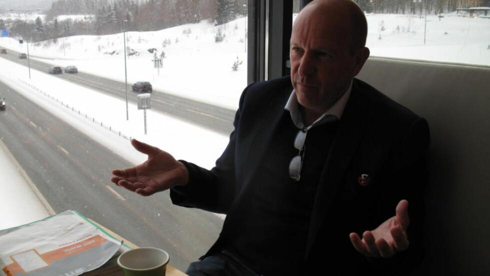 FORSTÅR HVORFOR:  Nils Johan Semb forstår hvorfor Dagbladet har oppfattet ham som vingeklippet. Foto: Lars Hojem Kvam