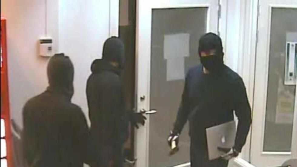 RANERE: Fire menn med tilhold i Sverige er dømt for ranet av Sportskafeen på Gjettum. Foto: Politiet