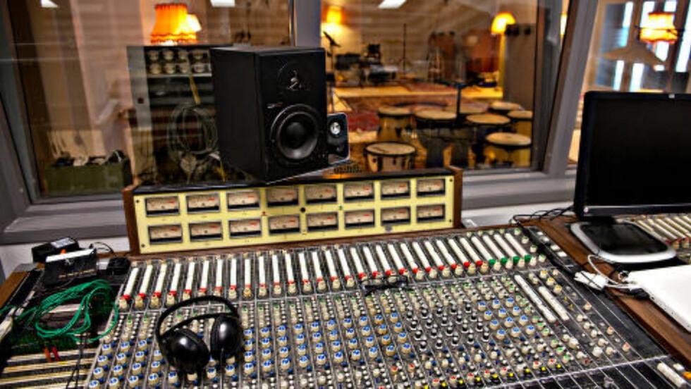 STAX: Miksepulten fra Stax Studios i Memphis står klare til å ta imot artister som sverger til god, gammeldags analog lyd med rørforsterkere og annen herlighet.