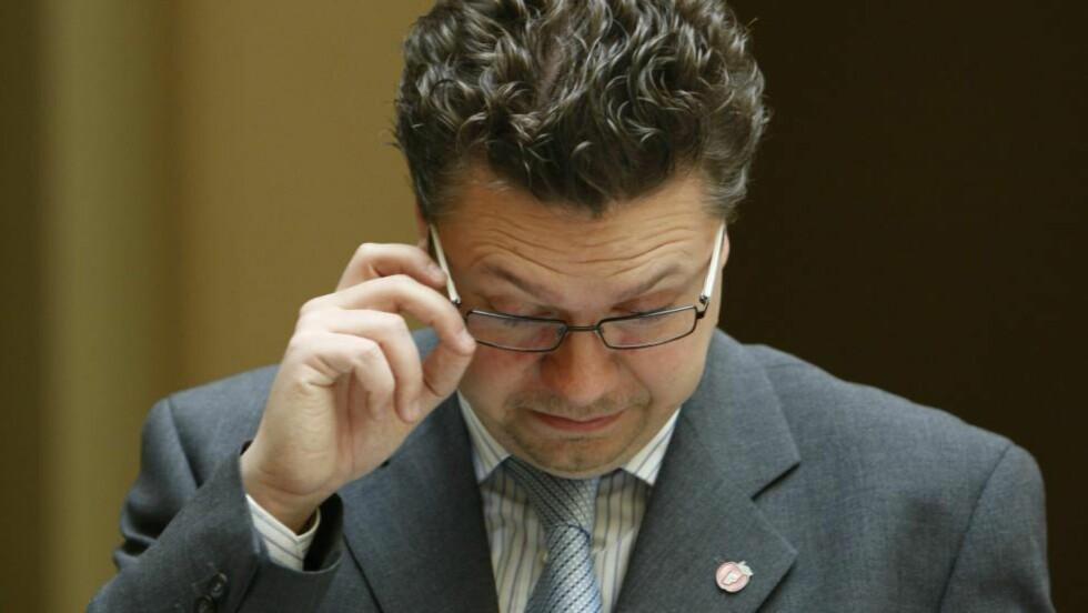 VIL KJEMI-KASTRERE: Fremskrittpartiets Ulf Leirstein er for kjemisk kastrering av barneovergripere. Foto: Erlend Aas / SCANPIX .