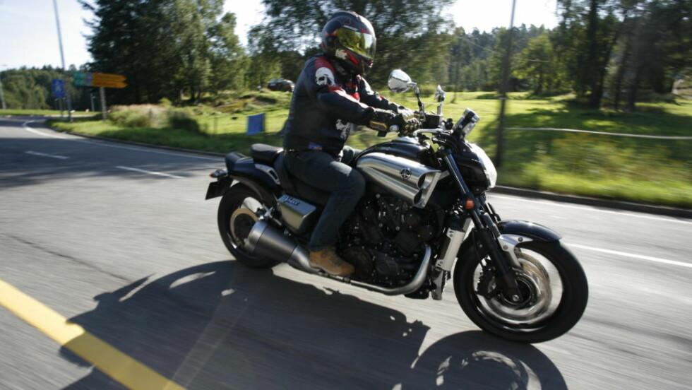 SLIPPER UNNA: Du trenger fortsatt ikke å levere motorsykkelen din til EU-kontroll. Foto: Espen Stensrud
