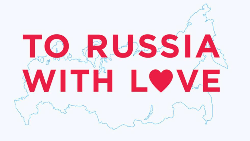 KOM IGJEN OG MAL: Amnesty og Dagbladet inviterer alle til å oppsøke nettstedet To Russia With Love og være med på å male landet i regnbuens farger og dermed rette søkelyset mot brudd på menneskerettighetene i Russland.