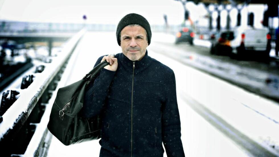 STADIG I FARTA: Det har vært få frihelger for Erik Solér siden han debuterte som fotballspiller for rundt 35 år siden. Bortsett fra det ene året, da, da han var nyskilt, og fikk sin ungdomstid. Foto: JACQUES HVISTENDAHL