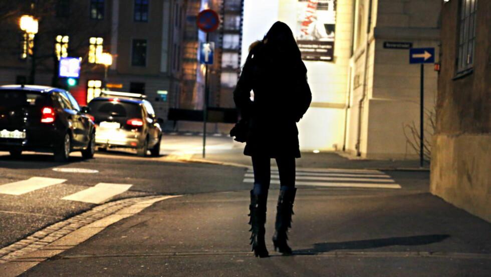 SEXARBEID: «Personlig tror jeg at det å velge en vei som sexarbeider kan ha en betydelig psykologisk pris, men mine reservasjoner er egentlig irrelevante i denne sammenheng. Der hvor den andres liv begynner, slutter mitt», skriver Kristin Spitznogle. Foto: Jacques Hvistendahl