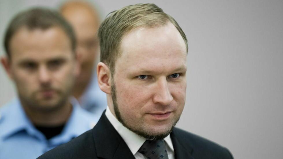 KREVER BEDRE TILBUD:  Anders Behring Breivik har sendt et brev til fengselsledelsen, hvor han krever å få et bedre aktivitetstilbud i fengselet. Det innebærer en bedre spillkonsoll og bedre spill. Foto: Bjørn Langsem / Dagbladet.