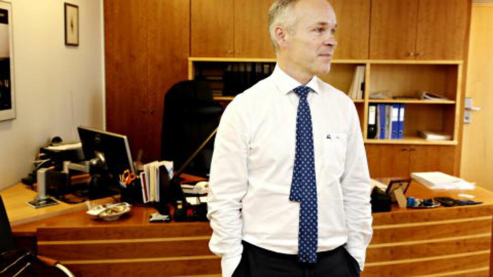 LANGSIKTIG Kommunal- og moderniseringsminister Jan Tore Sanner legger vekt på at beslutningene skal stå seg i lang tid. Foto: Jacques Hvistendahl / Dagbladet