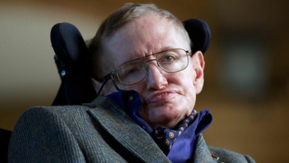 UNDERGANG: «Det universelle prinsipp om rettferdighet har kanskje ikke sin rot i fysiske lover, men er likevel fundamental for vår eksistens», skriver Stephen Hawking. Foto: NTB Scanpix