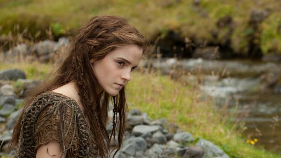 DÅRLIG VANN: På grunn av plastflaskeforbudet under innspillingen av «Noah» drakk Emma Watson vann som hadde stått stille i tre måneder. Foto: Promo