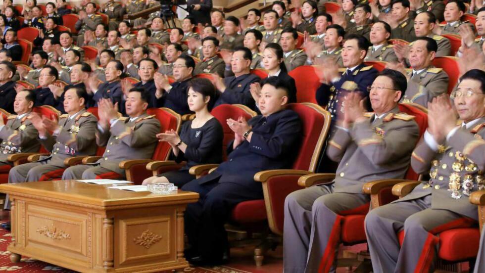 HOLDES ANSVARLIG: FN-rapporten skal advare Kim Jong-un og hans kumpaner om at de blir sett, og at de skal vite hva som venter dem når regimet rakner. Foto: EPA / NTB Scanpix