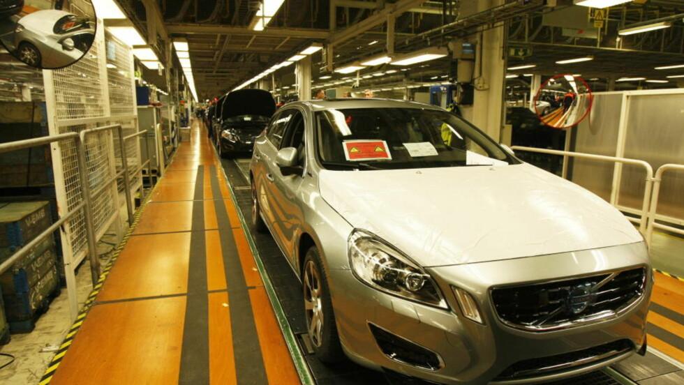 OPPTUR: Volvo har slitt med å få solgt bilene som ruller av samlebåndet. Særlig i USA har salget vært labert. Muligens tar det seg opp ettersom Volvo gjør et byks oppover på Consumer Reports årlige ranking over de mest pålitelige bilene. Foto: Foto: Tormod Brenna