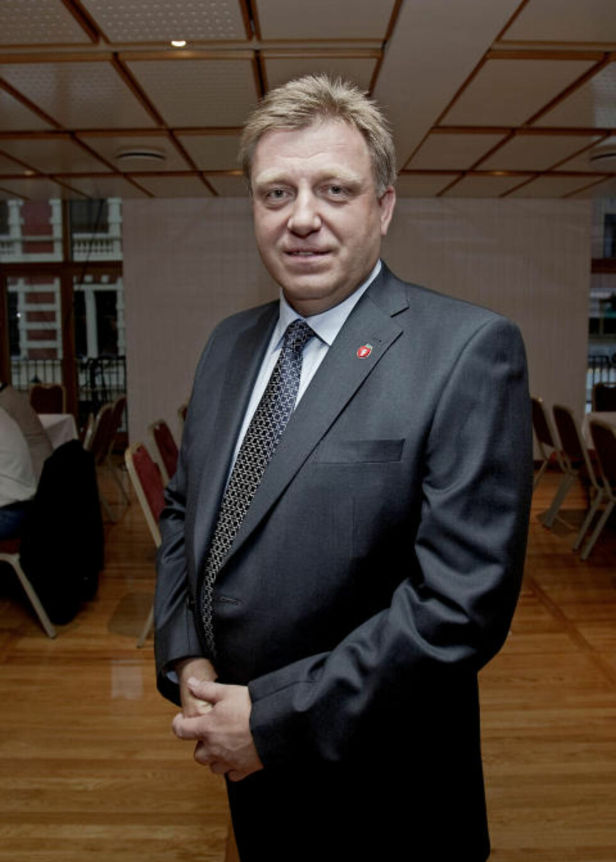 HAR FREMMET FORSLAGET: Administrerende direktør Geir A. Mo i Lastebileierforbundet har fremmet forslaget tidligere, men ønsker det velkommen på nytt. Foto: Stian Lysberg Solum/Scanpix.