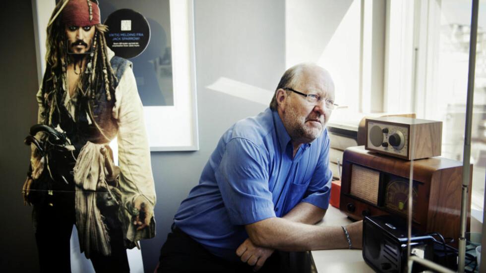 BLIR STYRELEDER: Kalle Lisberg går fra jobben som sjef i P4 til styreleder i samme radiokanal. Han er også daglig leder i MTG Norge AS. Foto: HAMPUS LUNDGREN/ DAGBLADET