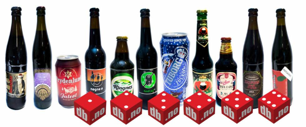 DAGBLADETS ØLTEST: Vårt panel bestående av sju øl-eksperter har luktet, smakt og smattet seg gjennom over 60 øl og kommet fram til noen klare vinnere og tapere. Foto: THOMAS RASMUS SKAUG