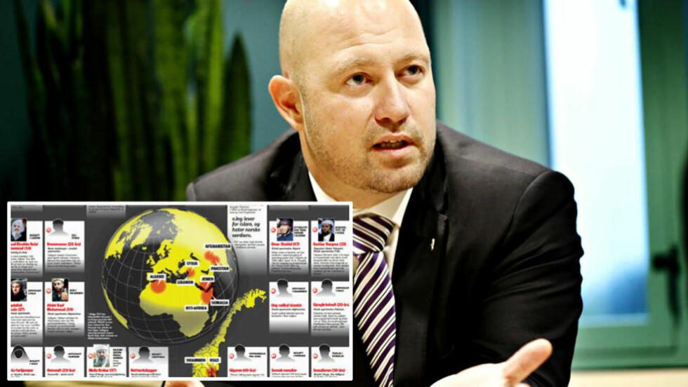 - VI MÅ BRY OSS: Justisminister Anders Anundsen går nå til kamp mot den økende ekstreme islamske radikaliseringen i Norge. Foto: Jacques Hvistendahl / Dagbladet