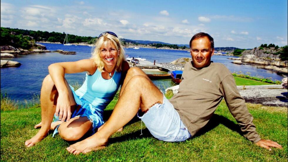 NEKTET:  Her er Siw Kristin Sællmann avbildet sammen med mannen Jan Wiktor. FOTO: ØRJAN SVENDSEN / Dagbladet